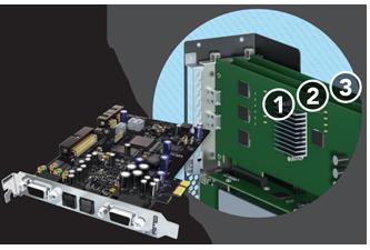 Extension PCIe Thunderbolt