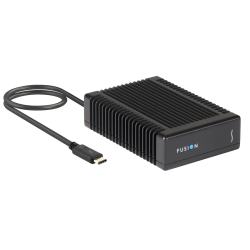 Disque Flash Fusion PCIe Thunderbolt 3