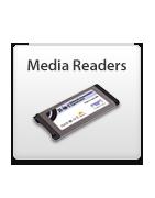 Lecteurs de cartes média