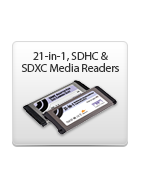 ExpressCard/34 Readers