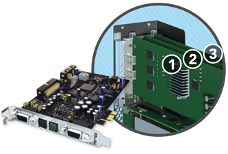 Extension PCIe Thunderbolt