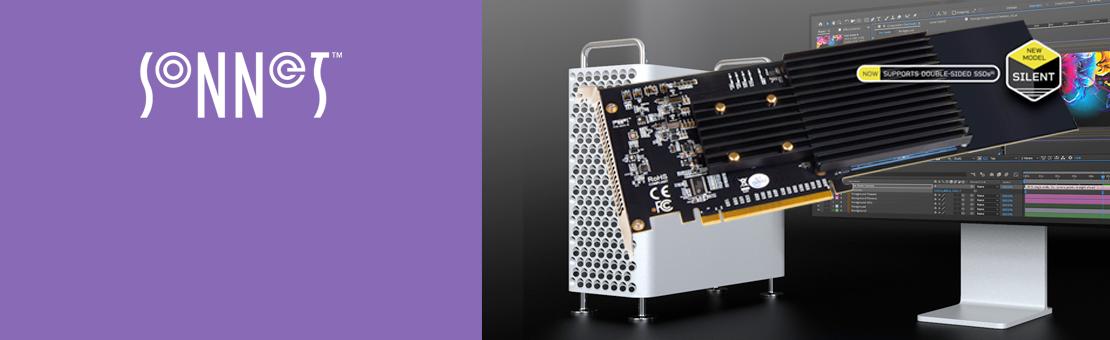 Sonnet M.2 4x4 PCIe Card (Silent)