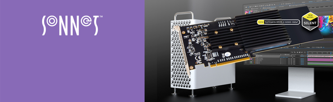 Carte PCIe Sonnet M.2 4x4 (Silent)